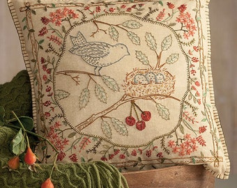 QUILT BOOK:  Stitches from the Garden - By Kathy Schmitz - Hand Embroidery Inspired by Nature