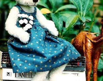 Artist Teddy Bear PDF Sewing Pattern -  Megan by CAZ Bears