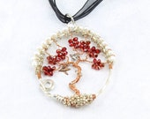 Copper Tree of Life Pendant, Wire Wrapped Tree of Life Pendant, Unique Wedding Gift - T6