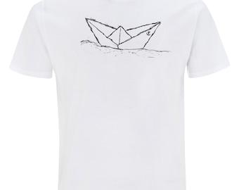 Paperboat T-Shirt Fair Trade & Organic Cotton _ white