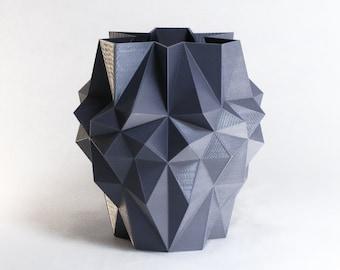 3D Printed Planter Geometric Polygon Artist Gift