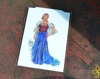 Freya Mini Print - Pocket Goddess