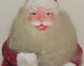 1950s Santa Doll Decoration 12 inches tall