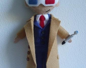 10th Dr. Who (David Tennant) Plush