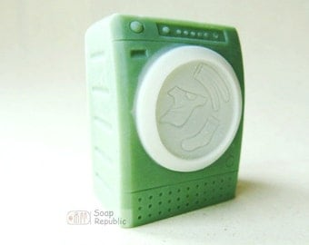 Laundry Time Washing Machine Soap Mold ( Soap Republic )