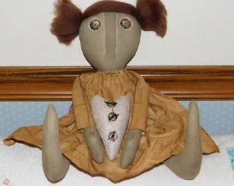 Primitive Tillie Doll