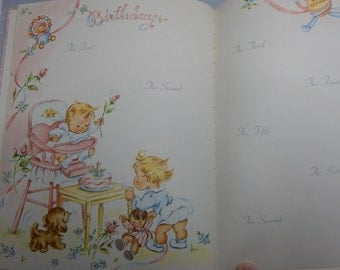 1940s STORY of OUR BABY Unused Baby Book