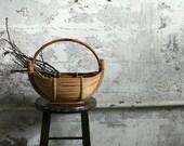 Vintage Floral / Easter / Knitting Basket