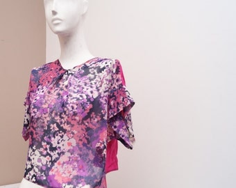 Pink and purple top for women