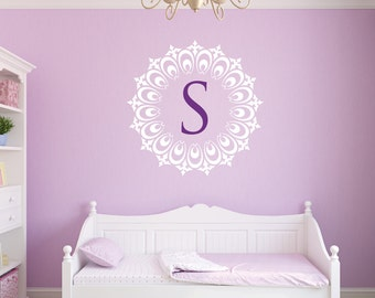 Monogram Wall Decals | Etsy