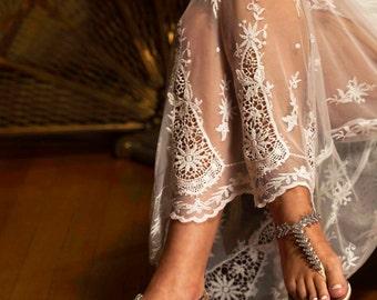 Wedding Sandals, Bridal Classic 7/8 inch Sandal, Wedding Crystal Strap Sandals, Pretty Bridal Sandals,250 Custom Colors, Comfortable Sandals