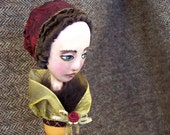 Painted Lady Candlestick Doll: Noel