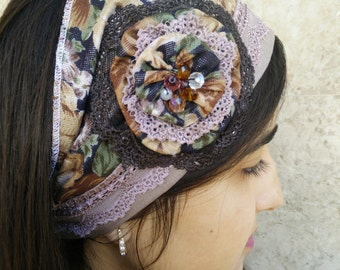 Hairband,Hair Accessories,Head Covering,jewish headcovering,Haarband cotton, by oshratdesignz