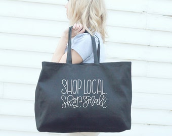 Big Tote bag - Shop local, shop small