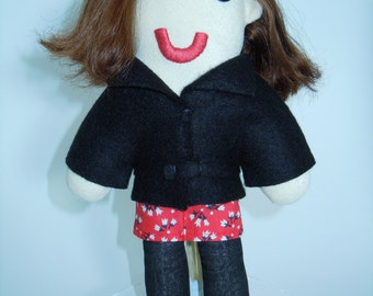 Doctor Who Clara Oswald Day of the Doctor Plush Doll