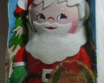Knickerbocker Vintage Santa Holiday Miniature, 1973