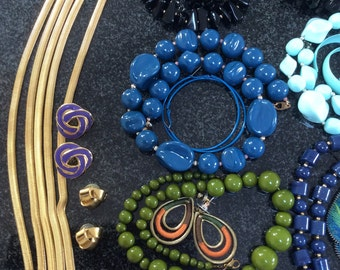 Lot of Necklaces and earrings all colors