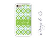 Monogram iPhone 6/6S * 6/6S PLUS * 5/5S * 5C personalized ogee phone case in custom colors with monogram or name