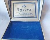 Vintage Bulova Jet Clipper Watch Box