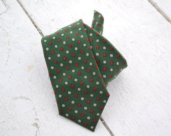 1950s Princeton Superba Green Necktie