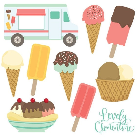 clip art ice cream party - photo #14