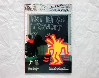 Art in Transit (1984) | Subway Drawings by Keith Haring