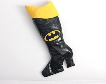Batgirl Christmas Stocking:  Superhero Christmas stockings