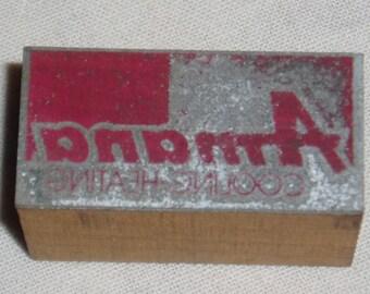 Printer's block, Amana Heating and Cooling