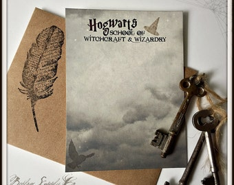 From Hogwarts - Magical Note Card Set with Envelopes