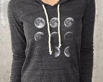 Moon Phases - Alternative Apparel Hoodie