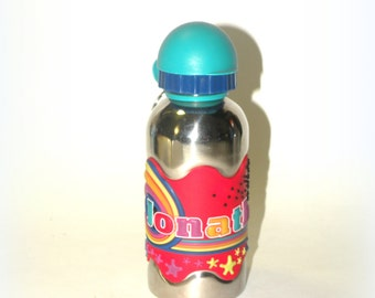 JONATHAN- Stainless Steel Kid's Water Bottle- Kids Just Love Them- Most Popular Item Top Selling Shops BOTTLE Popular Items Top Selling