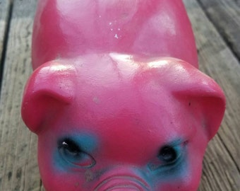 Vintage Chalk Ware Piggy Bank