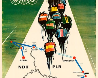 1979 Peace Race Bicycle Poster (#0407) 6 sizes