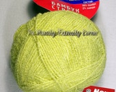 Kamtex Bamboo Stretch - elastic (resilient) yarn. Bamboo and lycra. Color 30 (lemon)