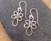 Sterling Silver Loops Earrings