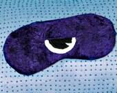 Sleep Mask, Cyclops, Purple