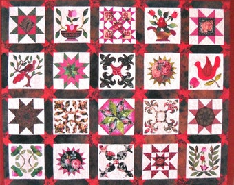 A Perfect Union of Patchwork & Applique, by Darlene C. Christopherson