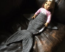 Crochet Pattern for Shark Tail Blanket - Toddler to Adult - Welcome to sell finished items
