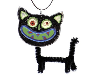Black Cat, Cat, Cat Trends, Cat Finds, Cat Ornament, Halloween Ornament, Halloween Finds, Halloween Trends, Fall Finds, Fall Trends