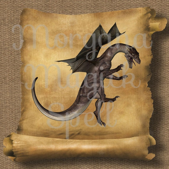 Dragon Attack Royalty Free Clip Art