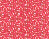 Aria Abloom in Rose, Kate Spain, 100% Cotton, Moda Fabrics, 27236 15