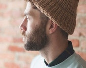 Timberline Beanie Camel - Recycled Wool & Cashmere - Ready to Ship - Unisex