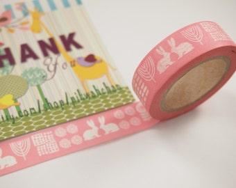 Rabbit Washi Tape (10M)