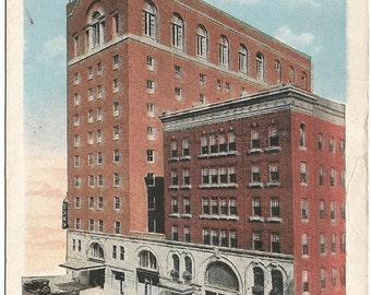Hartford Connecticut Hotel Bond Grand Historical Building Vintage Postcard