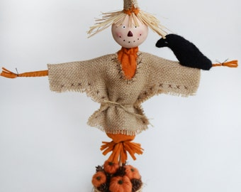 Thanksgiving Decor - Fall Decor - Scarecrow Doll - Scarecrow Decor