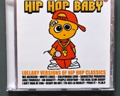 Hip Hop Baby Music CD. Hip Hop lullaby instrumental songs for the nursery. Funny baby music present for a rap fans