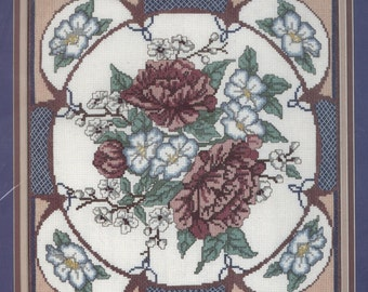 Oriental Peonies Counted Cross-Stitch Kit
