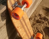 penny skateboard made from reclaimed timber, 100% eco friendly