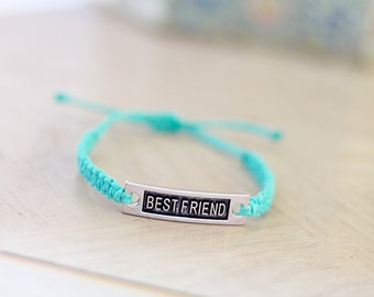 Best Friend Bracelet - Single Hemp Bracelet - Hemp Jewelry