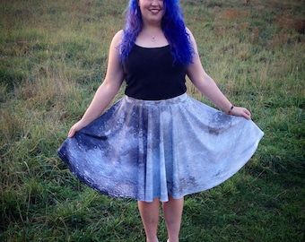 Full Moon Circle Skirt